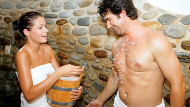 sauna-erfrischung