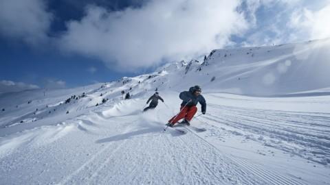 Skifahren-Hochzeiger-Kanonenrohr © @tvbpitztal