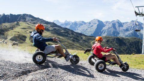 Zirbencart Spezialtour mit Guide @ Hochzeiger Bergbahnen
