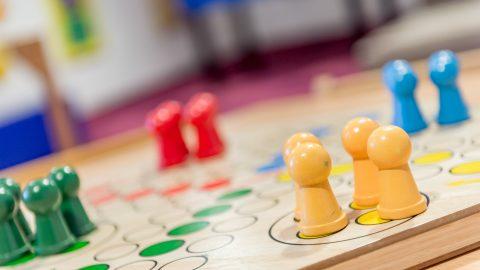 kinder spielzimmer brettspiele