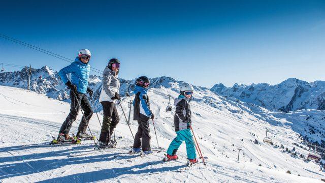 pitztal winter ski familie hochzeiger